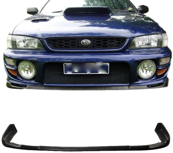 FRONT BUMPER BAR LIP WRX STI STYLE TO SUIT SUBARU IMPREZA GC8 1998-2000