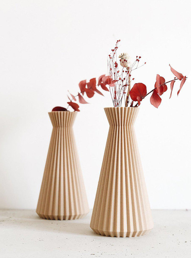 Vase origami-Minimum Design-Jardiniste