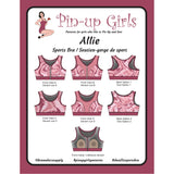 Bra Pattern, Allie Sports Bra, Bra-Makers Supply - Gigi's Bra Supply