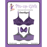 Bra Pattern, Amethyst Lace Bra Pattern, Bra-Makers Supply - Gigi's Bra Supply