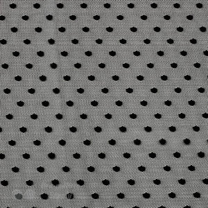 Fabric, Mesh Fabric, Fun Dot Mesh Fabric - Gigi's Bra Supply