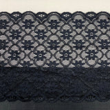 Bra Fabric Kit, Black and Lace Trio Bra Making Fabric Kit for all Bra Patterns