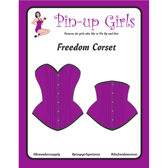 Bra Pattern, Freedom Corset Pattern, Bra-Makers Supply
