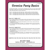 Panty Pattern, Veronica Panty Basics, Bra-Makers Supply - Gigi's Bra Supply