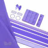 Bra Kit, Lilac Full Kit (Fabric and Findings) - Gigi's Bra Supply