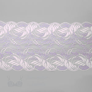 "Lace, Stretch Lace, 6"" Pink Amethyst Stretch Lace, 6 inch"