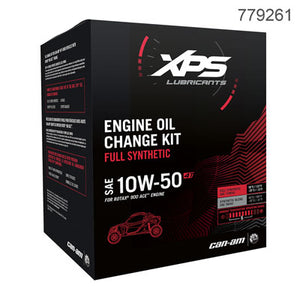 Can-Am XPS 4-Stroke Synthetic Oil Change Kit