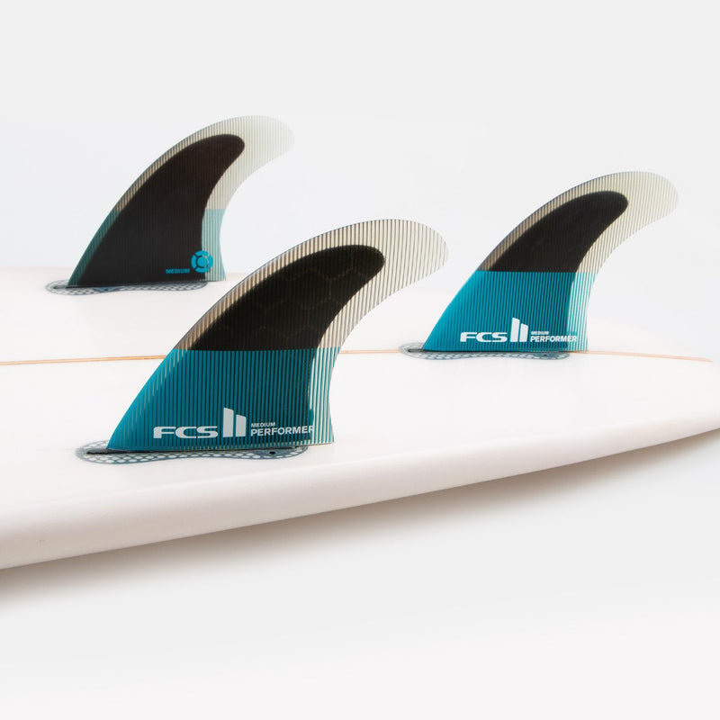 FCS II PERFORMER PC TRI FINS - MH Surfboards