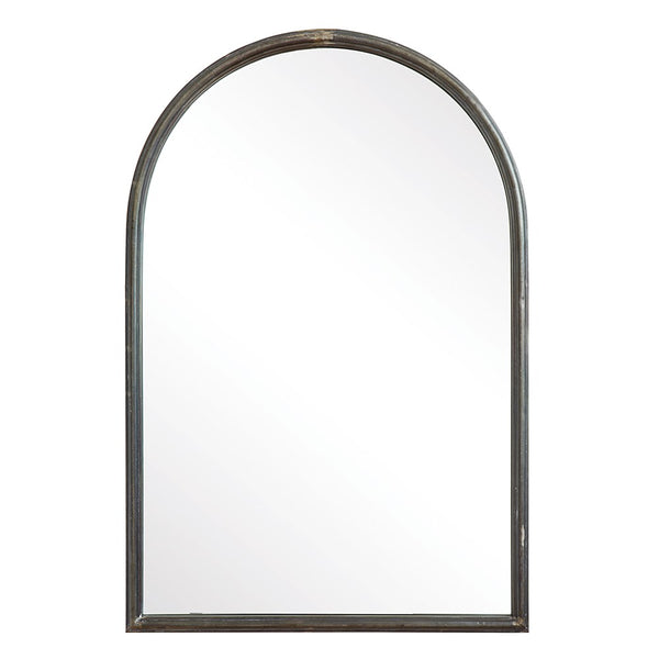 Arched Welded Metal Frame Mirror
