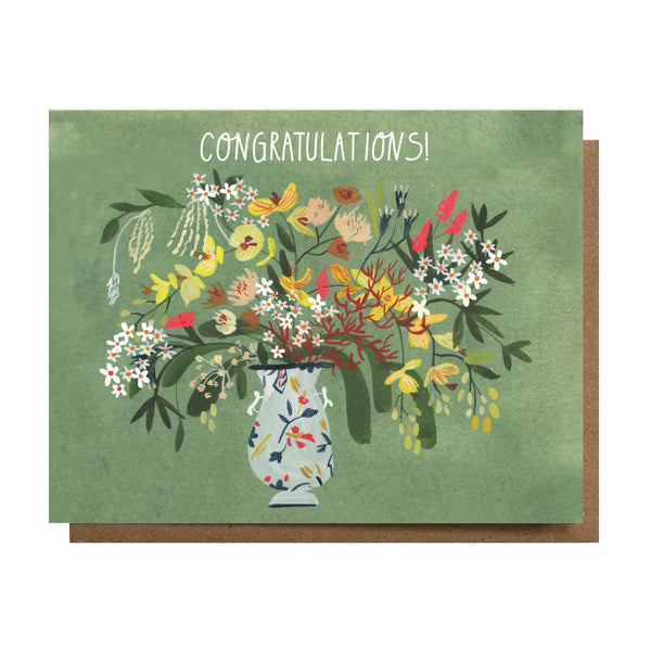 Congratulations! Greeting Card by THE ESME SHOP