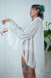 1980s Age of Innocence Robe