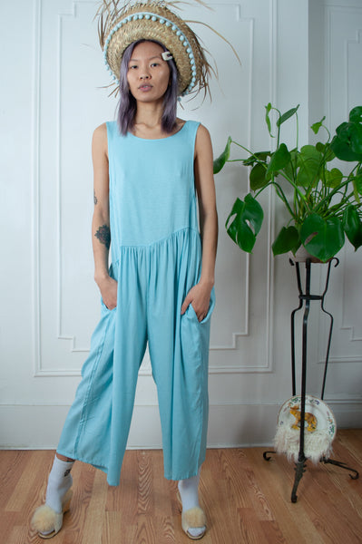Sky Blue Summer Playtime Jumpsuit