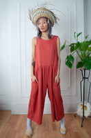 Salmon Summer Playtime Jumpsuit