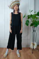 Black Summer Playtime Jumpsuit