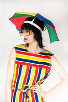 Vintage 1970's Umbrella Hat