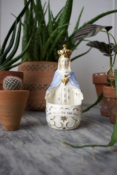 1940s French Saint Vase