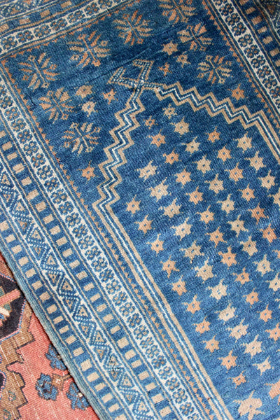 Indigo Turkish Prayer Rug