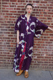 Japanese Floral Robe