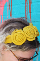 Frida Floral Oversized Headband