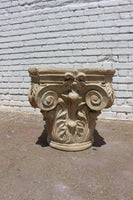 Ionic Column Pedestal Table