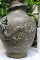 Antique Dragon Vase