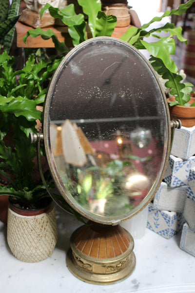 Antique Vanity Makeup Mirror
