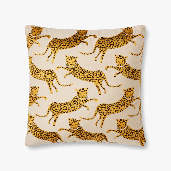 Wild Cat Leopard Pillow