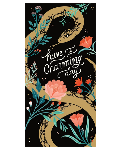 Charming Day Serpent Pop Up Greeting Card