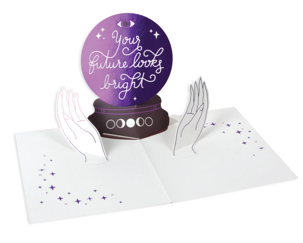 Crystal Ball Pop Up Greeting Card