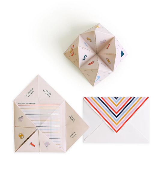 Interactive Fortune Teller Pop Up Greeting Card