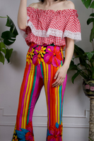 80s GOTTEX Resort Bellbottom Pants