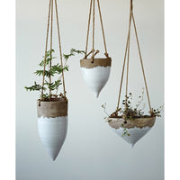 Dipped Cone Hanging Planter