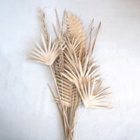 Natural Fern Palm Buri Pick