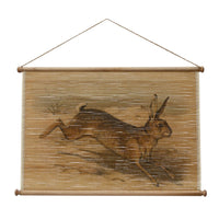 Bamboo Rabbit Wall Hanging