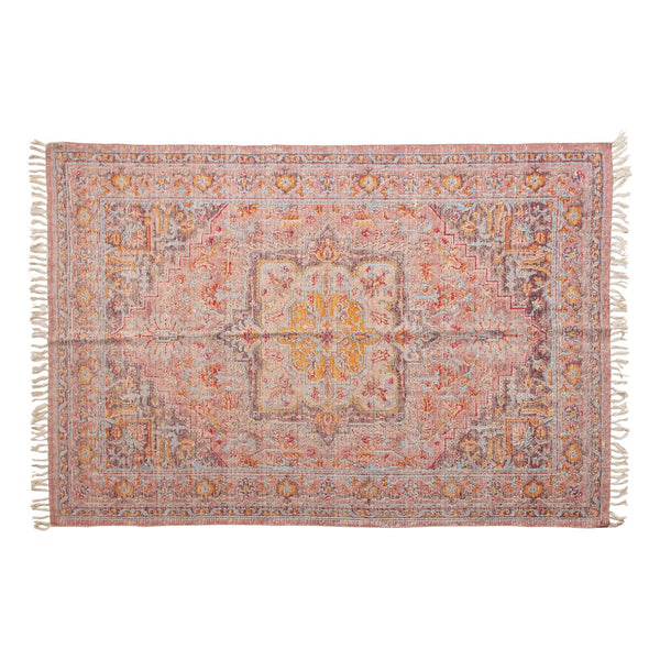 Red Sky Woven Rug ~ 4' x 6'