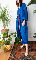 Regal Blue Christian Dior Robe