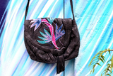 1980s Tropical Leather Bag