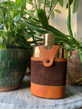 Vintage Leather Travel Flask