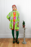 60s Green Ungaro Swing Coat
