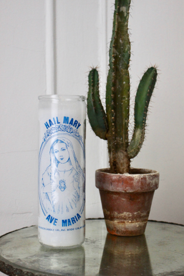 Hail Mary Ritual Candle