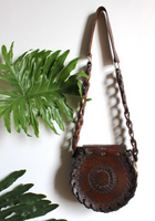 Mexican Tooled Leather Purse