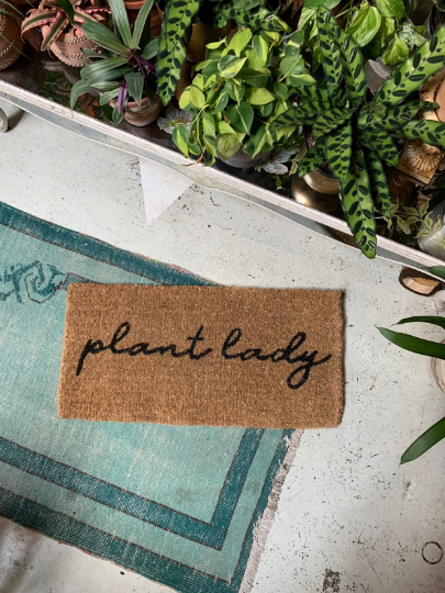 Plant Lady Door Mat