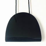 1950s Black Saks Hardbody Purse