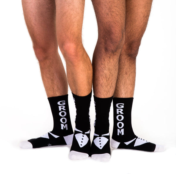 Groom Tuxdeo Socks