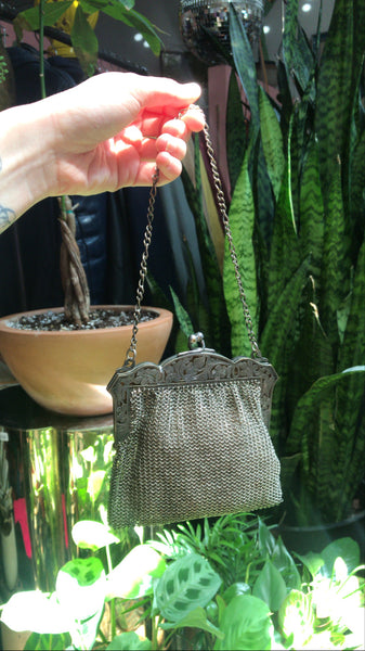 Turn of the Century Tiny Chainmail Purse