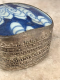 Trippy Blue Trinket Box