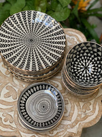 Black and White Designed Bowls