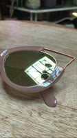 Mirrored Futuristic Cat Eye Sunnies