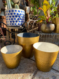 Gold Textured Planter (3 sizes)