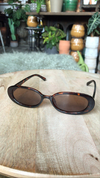Sleek Oval Tortoise Sunnies